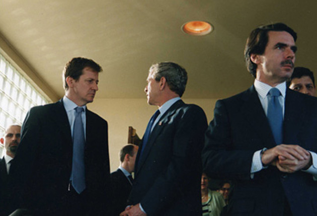 Alastair with President Bush