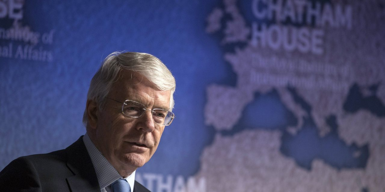 We were promised 'big speeches' by May and her team. It took John Major to deliver one. Everyone should see it