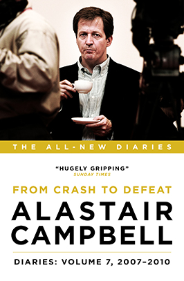 Alastair Campbell Diaries Volume 7 Cover