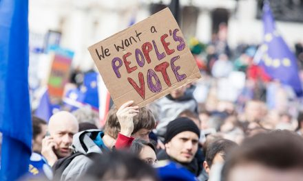 Massive bust up at People's Vote – not