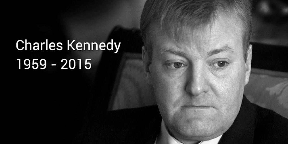 Remembering Charles Kennedy – we could do with more like him today!