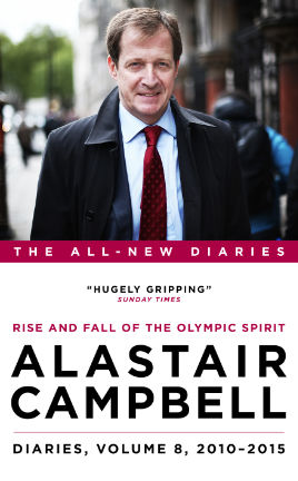 Alastair Campbell Diaries, Volume 8 Cover